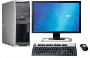 HP Workstation Machine